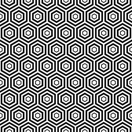 eamless hexa pattern background
