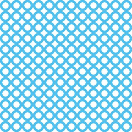 seamless blue circle  pattern