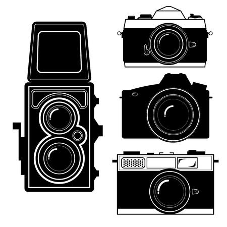 camera vintage camera vector  イラスト・ベクター素材