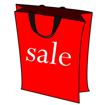 sale bag vector Stock Vector - 21167672