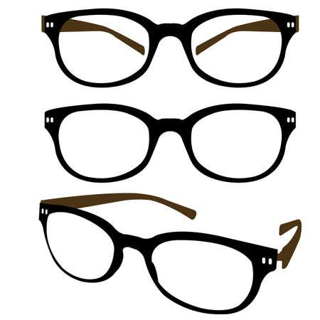 eyewear fashion: Spectacle  Illustration