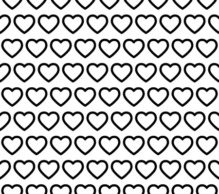 endearment: Seamless Heart Pattern Illustration