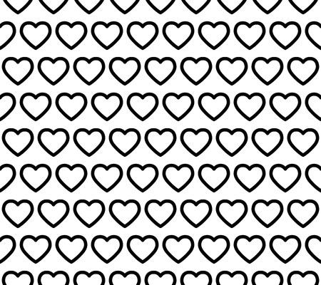 Seamless Heart Pattern Ilustrace