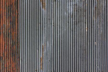 corrugated iron: Zinc grunge background