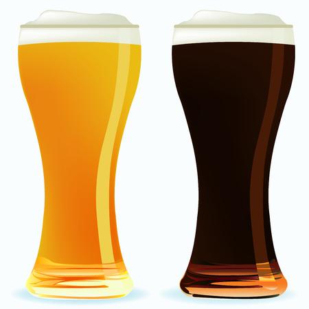 Beer illustration  Vector