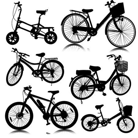 bike vector: vector de bicicleta