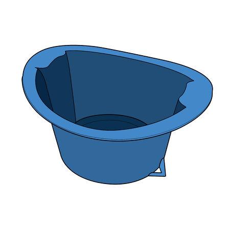 basin: Basin out line  Illustration