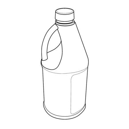 lejia: Botella qu�mica esquema