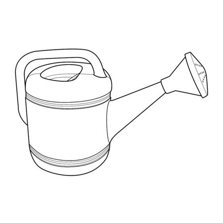 pulverizer: plant shower mug outline