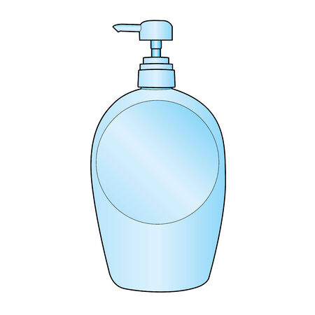 cleanse: lotion pump bottle  Illustration