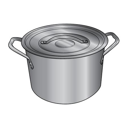 Pot Stock Vector - 25641872