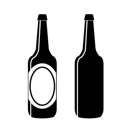 bottle of beer vector Vector