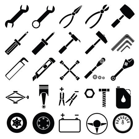 disk break: Auto Mechanic Tools set