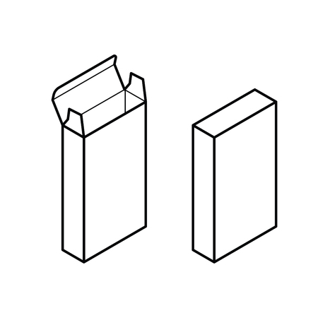 Rectangle Box Vector