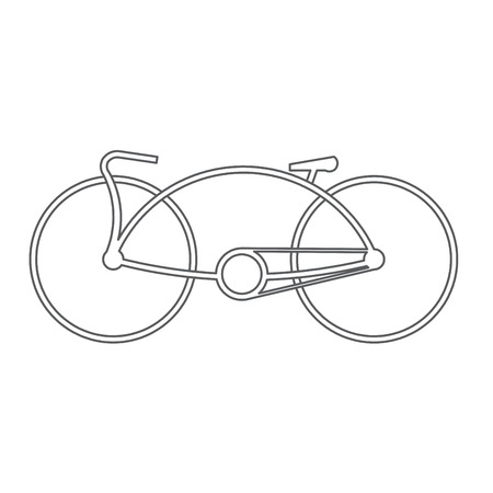 delineation: bicycle symbol