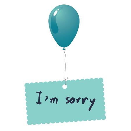 I m sorry card vector