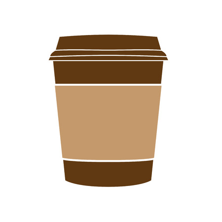 caffeine free: coffee cup vector Illustration