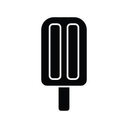 gelato stecco: Ice Cream Stick vettore colorato Vettoriali
