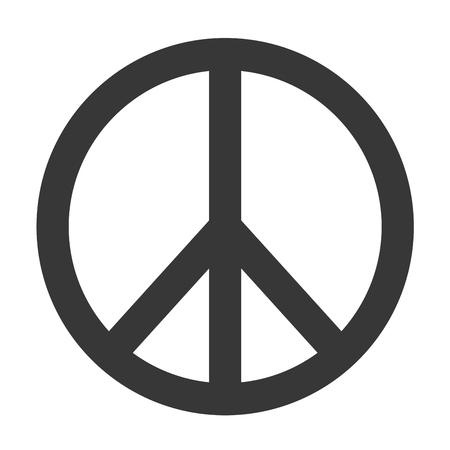 simbolo paz: s�mbolo de paz del vector Vectores