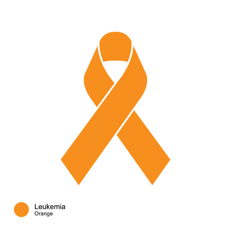 leukemia   ribbon vector 向量圖像