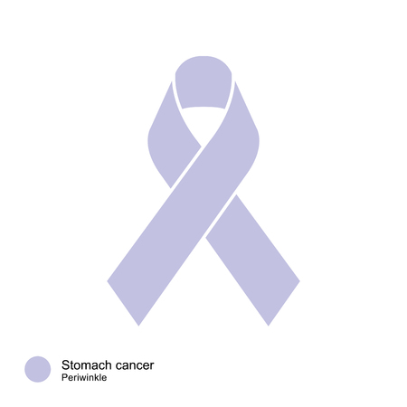 stomach cancer: stomach cancer ribbon vector
