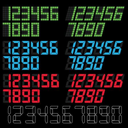digital number: digital number