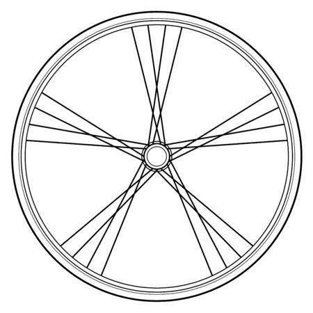 bike wheel: bike  wheel