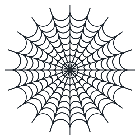 spider web vector illustration on white background royalty free rh 123rf com spider web vector corner spider web vector free