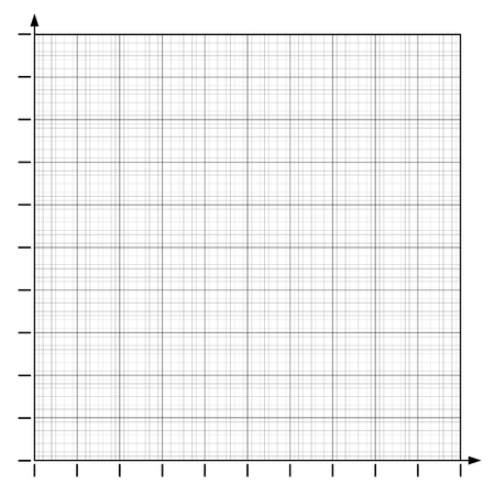 Graph paper coordinate paper grid paper squared paper Illustration