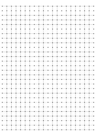 millimeter: full page centimeter Dot Paper vector Illustration