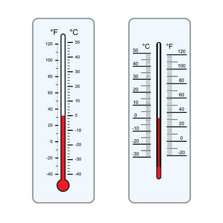 Thermometers vector illustration Illustration
