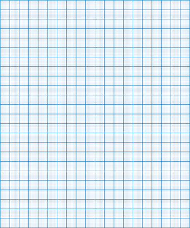 Blue graph paper coordinate paper grid paper squared paper Ilustracja