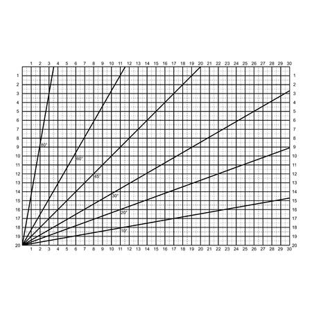 Rasterlijnen snijden stofpatroon. Vector Illustratie