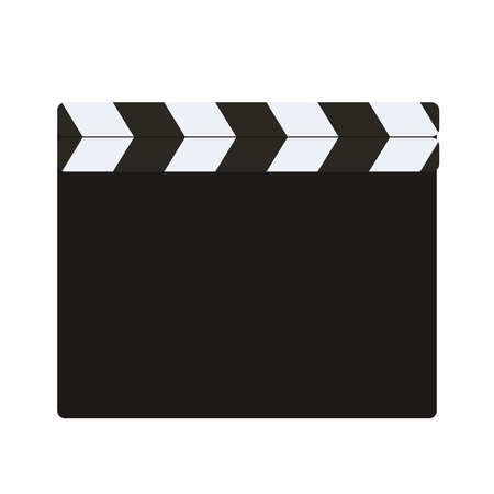 blank of director clapboard movie clapboard  or  isolated on transparent background vector illustration Illustration