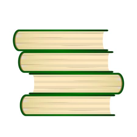 book background book vector on background illustration 向量圖像