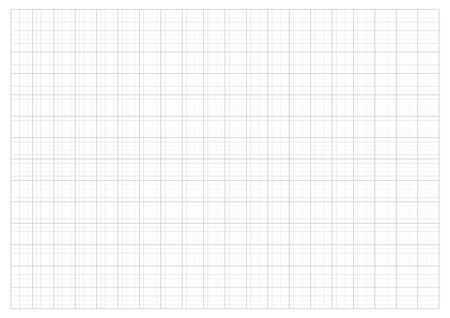 rid Paper 2.0 cm  Grid And Graph scale 1:50 vector  イラスト・ベクター素材