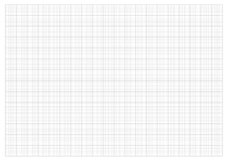 rid Papier 2,0 cm Raster und Grafik Maßstab 1:50 Vektor
