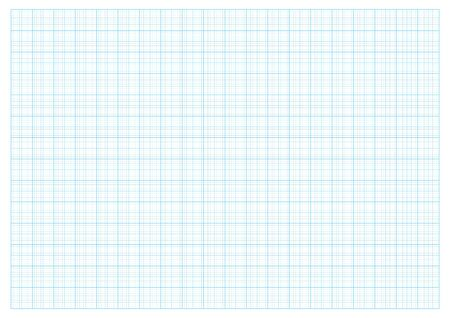 rid Paper 2.0 cm  Grid And Graph scale 1:50 vector Illustration