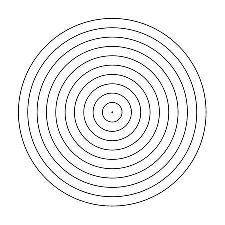 blank arrow  target  blank gun target paper shooting target blank target background target paper shooting on white background  イラスト・ベクター素材