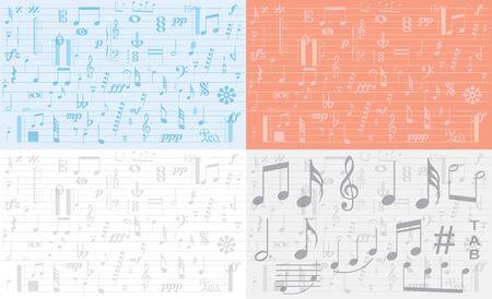 music symbol background , Elements musical background music background