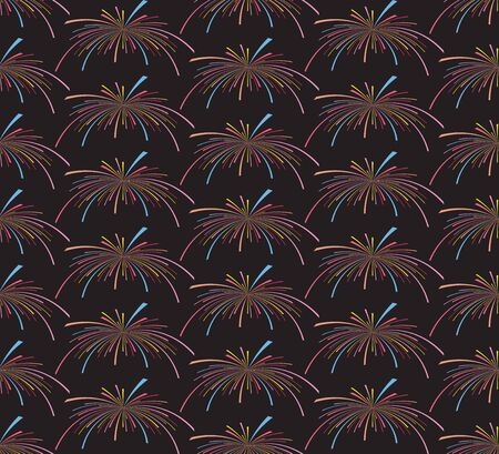 fireworks seamless pattern. Seamless  of fireworks. fireworks pattern. Funny  pattern. Abstract seamless pattern. Star seamless