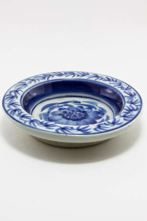 ceramic bowl on isolated background  photo
