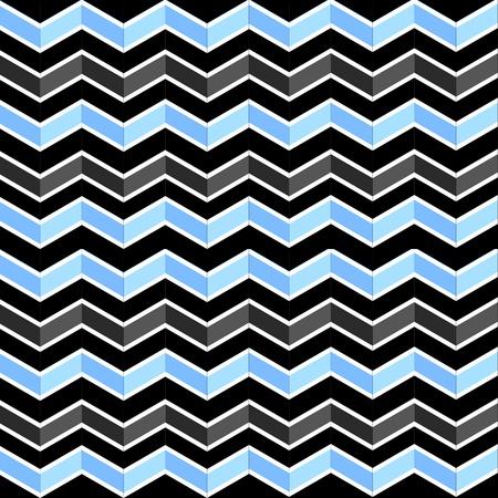 Seamless geometric pattern with zigzags photo