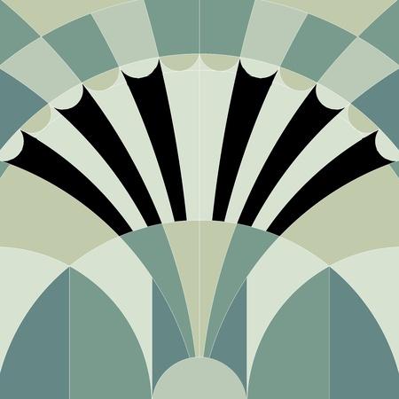 art nouveau: art deco grafica di sfondo