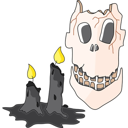 cartoon halloween hand draw illustration Stock Illustration - 15772160
