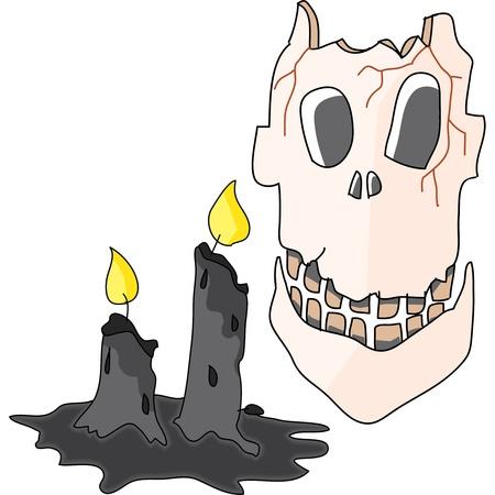 cartoon halloween hand draw illustration Stock Illustration - 15772160