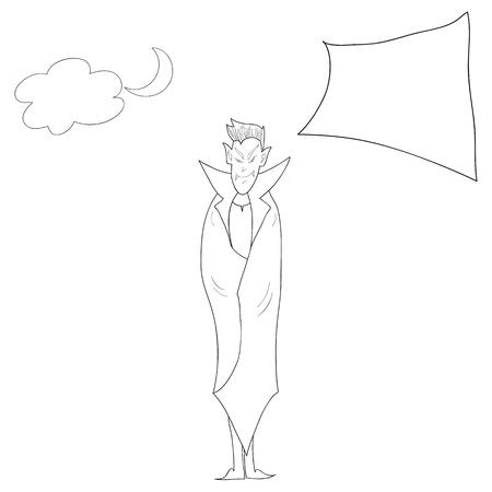 halloween cartoon character hand drawn illustration Stock Vector - 15965122