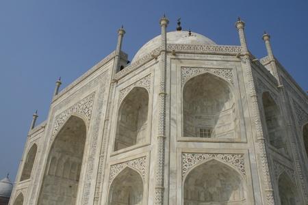 Taj mahal architecture Agra, Uttarpradesh India photo