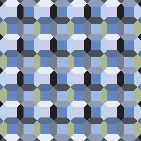 octagon: seamless graphic octagon pattern