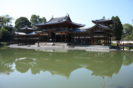 Byodoin temple in Uji, near Kyoto in Japan Stock Photo - 16245366